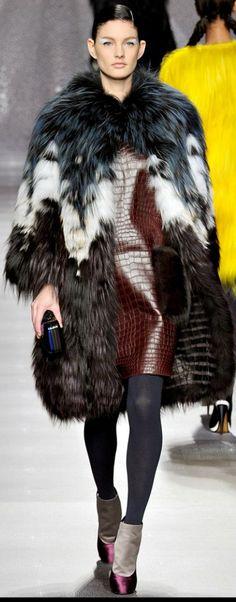 Fendi Fur Collection & more Luxury details