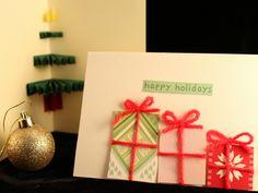 DIY-Tutorial: 3D-Weihnachtskarten