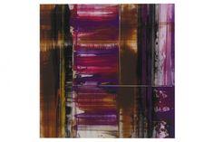 Pro Art Glasbild violet abstracts