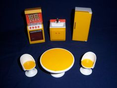 1978 FISHER PRICE 250 Dollhouse Accessories by MyToysRyourToys, $19.99