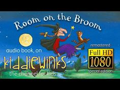 Room On The Broom - Special Edition (HD Remastered) Audio Book Reading Club, Shared Reading, Reading Fluency, Teaching Kindergarten, Teaching Music, Teaching Ideas, Audio Books For Kids, Listen To Reading, Room On The Broom