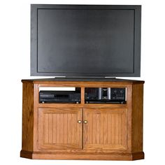 Eagle Furniture Heritage Customizable 50 in. Tall Corner TV Stand | from hayneedle.com