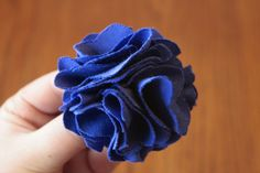 Ruffly Flower Tutorial at Craft Buds