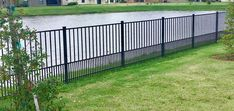 Decorative aluminum fences have grown in popularity over the last 10 years – faster than any other type of fencing on the market today. Cutting-edge technology in the area of extrusion and powder coating have virtually made the old wrought iron fence of your grandparents' day obsolete. Types Of Fences, Wrought Iron Fences, Aluminum Fence, Grandparents Day, Mossy Oak, Fence Design, Powder Coating, Fencing, 10 Years