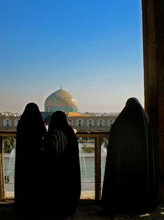 Admiring History, Isfahan, Iran