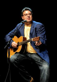 Born in Oklahoma in 1957, Vince Gill's first solo album, Turn Me Loose (1984), earned him the Academy of Country Music's Top New Male Vocalist Award. In 1989, Gill recorded When I Call Your Name, which was certified double platinum for 2 million copies sold, while the title track earned Gill a 1990 Grammy Award for best country song. Gill has since won more than a dozen Grammys and several other awards.