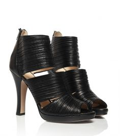 High Heels Leather Sandal