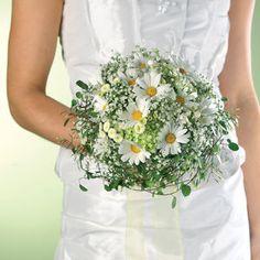 Brautblüten auf Zierdraht-Kuppel