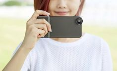 Take your smartphone photos to the next level with this case.