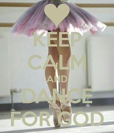 Keep calm & dance