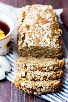 One Bowl Honey Oatmeal Bread – Dan330