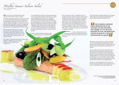 Workington Guide, Issue 21.indd Salmon Salad, Oven Roast, Healthy Summer, Cantaloupe, Canning, Fruit, Recipes, Food, Meal