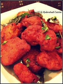 Hyderabadi Cuisine: Hyderabadi Chicken 65