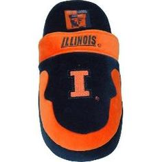 ComfyFeet Illinois Fighting Illini Slip On Slippers