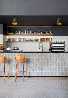 Boro Hotel interior designed as a mash-up of Copenhagen, Seville and New York City