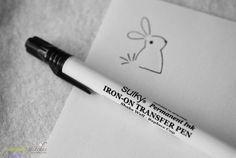 Transfer designs onto felt w/Sulky Iron-On Transfer Pen
