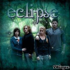 eclipse// alice, jasper, rosalie and emmett