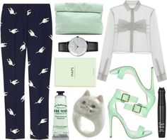 """Leave me now, return tonight the tide will show you the way"" by karllydolly ❤ liked on Polyvore"