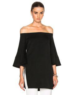 Ellery Elize Top in Black | FWRD
