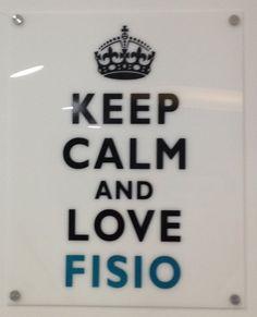#fisioterapia keep calm ;)