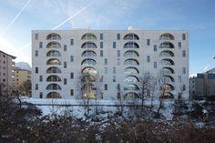 Bearth & Deplazes Architekten, Ralph Feiner · New Building Residence Arcadas, Landquart · Divisare