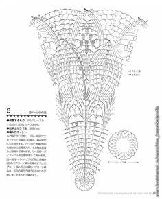 Crochet Doily Diagram, Crochet Motif Patterns, Filet Crochet Charts, Thread Crochet, Crochet Stitches, Magazine Crochet, Crochet Dollies, Crochet Decoration, Crochet Tablecloth