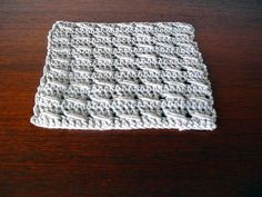 Crochet Bloke: Simple Crossed Stitch