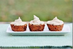 Raw Vegan Carrot Cake Cupcakes