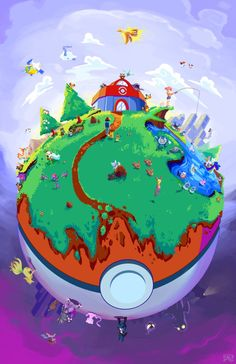 World of Pokemon by Spopling.deviantart.com on @DeviantArt
