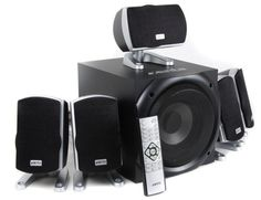 //  Audio  //  Xenta XForce 5.1 Surround Sound Speakers (80W RMS with Wireless Remote Control) for £39.99 saving £9.99  //