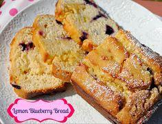 Lemon Blueberry Bread  by Jenn_Egg, via Flickr