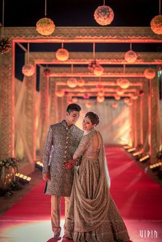 Photographer - The Perfect Soulmates! Photos, Hindu Culture, Beige Color, Bridal Makeup, Sangeet Makeup, Designer Groom Wear pictures, images, vendor credits - Bianca, WeddingPlz