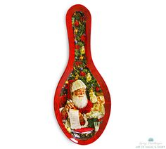 """Ceramic Spoon Rest"" Available at www.cliffkringle.com"