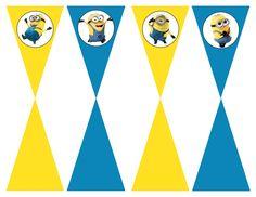 DIY Design Den: Minion birthday party with free printables.