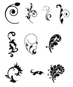 Free SVG Cut File swirls