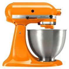 I love orange. Need one of these for the kitchen.!