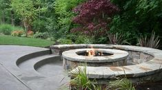 Craigs next project - sunken fire pit with seating