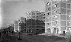Ignác Vécsei,Fridrich Weinwurm: Unitas (social) housing complex (1932) Bratislava, Social Housing, Old Town, Old Photos, Milan, Multi Story Building, Street View, Ale, Times