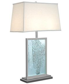 Regina Andrew Etched Sea Fan Table Lamp