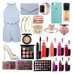 """""""Sin título #411"""" by frichu on Polyvore featuring moda, Miss Selfridge, Dsquared2, Dorothy Perkins, Adolfo Courrier, Pieces, MAC Cosmetics y BHCosmetics"""