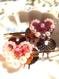 Resin hair pin