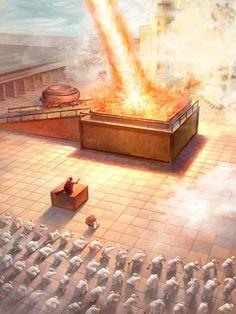 When King Solomon's temple is complete, Solomon prays that Jehovah God accept it. How does God answer that prayer? Bible Pictures, Jesus Pictures, Catholic Art, Religious Art, Solomons Temple, Jesus Artwork, Arte Judaica, Bible Topics, Bible Qoutes