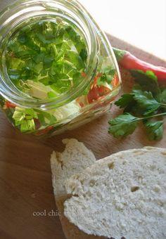 Feta sott'olio  #recipe #italianrecipe ( Cool Chic Style Confidential )