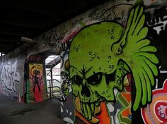sweet graffiti art work