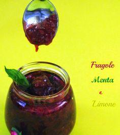 L'emporio 21: Confettura di fragole,menta e limone