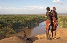 アフリカの部族の女性 - ストック編集用写真©ajlber#24318903