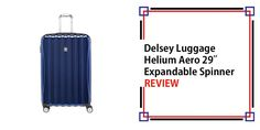 Delsey Luggage Helium Aero 29″ Expandable Spinner Trolley Review Best Carry On Luggage, Travel Luggage, Metal Detector Reviews, Travel Items, Purses For Sale, Business Travel, Holiday Travel, Asda, Suitcases