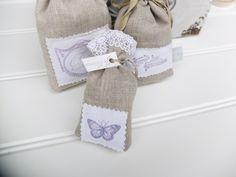 Duftkissen & -säckchen - 3er Set Lavendelsäckchen Provence Duftsäckchen - ein Designerstück von Wohnen-Dekorieren bei DaWanda