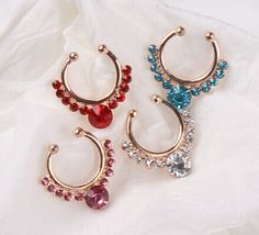 1 Piece Zircon Fake Septum Clicker Nose Ring Non Piercing Clip On Jewelry Fashion body percing nez jewelry faux nose studs hoop♦️ SMS - F A S H I O N 💢👉🏿 http://www.sms.hr/products/1-piece-zircon-fake-septum-clicker-nose-ring-non-piercing-clip-on-jewelry-fashion-body-percing-nez-jewelry-faux-nose-studs-hoop/ US $1.54