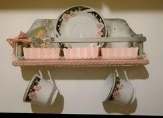 Recupero creativo, da porta spezie a Porta tazzine da tea Shabby chic ❤  io lo adoro!